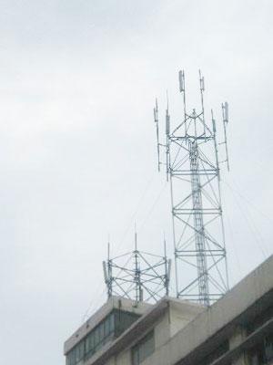 楼顶增高塔厂家